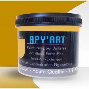 Pot  peinture acrylique Jaune miel