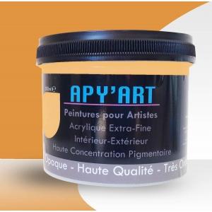 Peinture acrylique Jaune Pastel