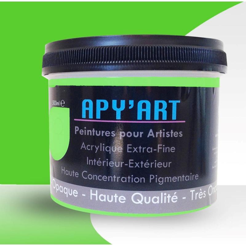 Vert Jaune Pop 500ml Peinture Acrylique