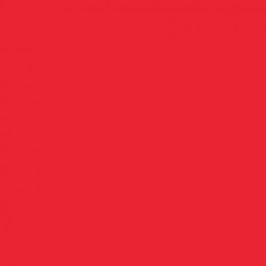 Rouge Pop  couleur peinture acrylique (rouge de cadmium clair)