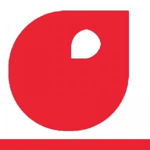 Rouge Pop vignette peinture acrylique (rouge de cadmium clair)