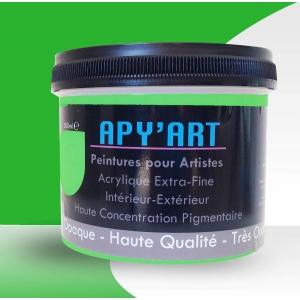 Peinture acrylique vert pop