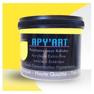 Peinture-acrylique-Jaune-primaire