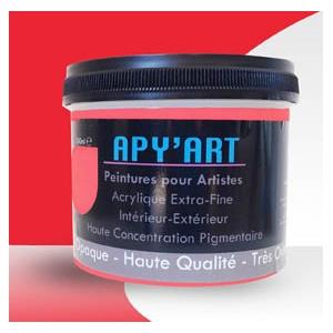 Rouge Pop Pot peinture acrylique (rouge de cadmium clair)