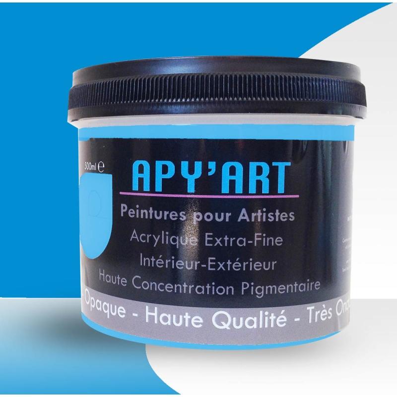 Turquoise Bleu Phthalo 500ml Peinture Acrylique