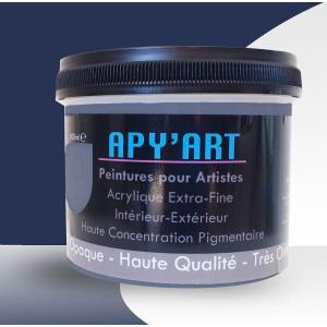 bleu indanthrene peinture acrylique