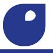 palette bleu phtalo foncé