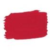 Rouge signalisation application peinture acrylique