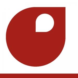 Rouge de sécurité vignette peinture acrylique