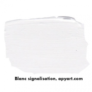 Blanc signalisation image application peinture apyart©