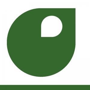 Vert herbe vignette peinture acrylique