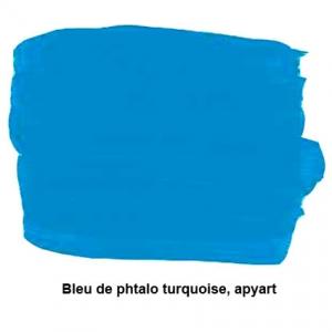 Turquoise bleu phtalo apyart