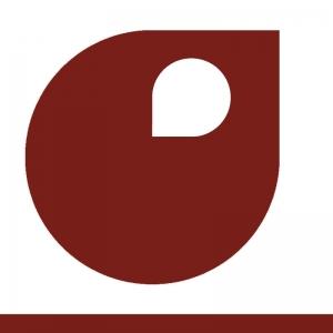 Rouge brun vignette peinture acrylique