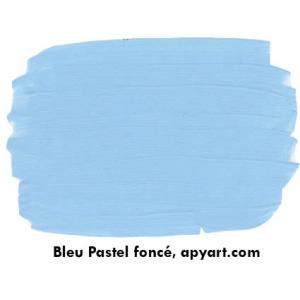 bleu pastel nuancier peinture 75 ml