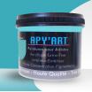 Peinture acrylique turquoise