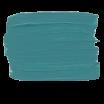 Turquoise menthe vignette peinture acrylique