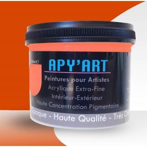 orange pur pot peinture 500 ml