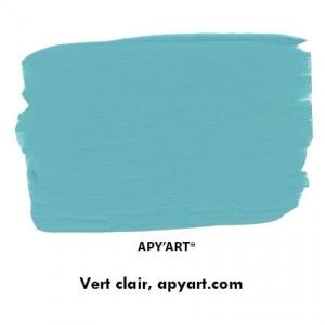 Vert clair vignette peinture acrylique