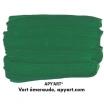 Vert émeraude vignette peinture acrylique