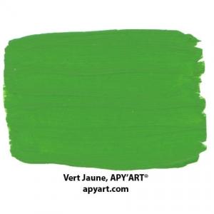 image-Vert-jaune-application-peinture-acrylique