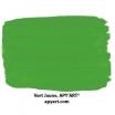 Vert Jaune vignette peinture acrylique