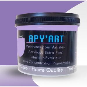 pot peinture violet fat apyart