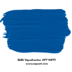 Bleu signalisation nuancier apyart