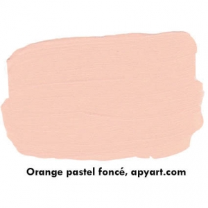 nuancier orange pastel f apyart