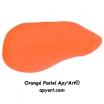 nuancier couleur orange pastel apyart