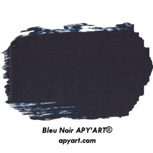 nuancier Peinture acrylique Bleu noir