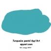Turquoise pastel nuancier peinture acrylique