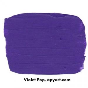 violet pop nuancier peinture apyart