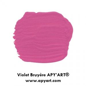 Violet Bruyère peinture apyart nuancier