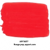 Rouge Pop nuancier peinture acrylique (rouge de cadmium clair)