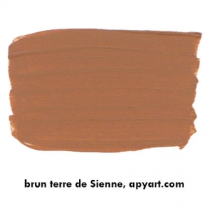 terre de sienne nuancier peinture apyart