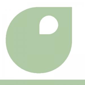 Vert Blanc vignette peinture acrylique