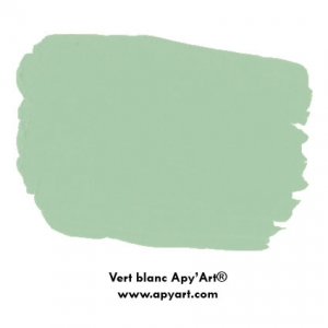Vert Blanc  nuancier peinture acrylique