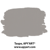 taupe application peinture 1 litre