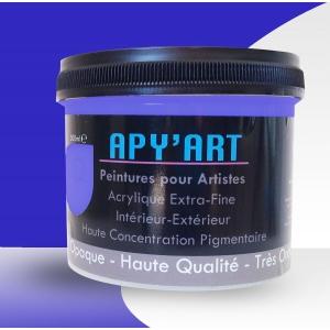 Bleu Marrakech pot peinture acrylique