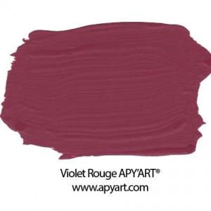 violet rouge peinture apyart application