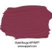 violet rouge peinture apyart application