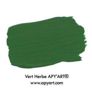 Vert herbe application couleur peinture apyart©
