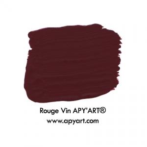 Rouge vin application peinture apyart®