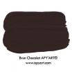 application peinture acrylique brun chocolat apyart®