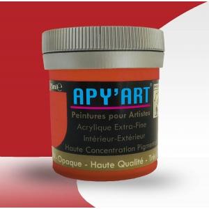 Rouge oriental  peinture acrylique 75 ml