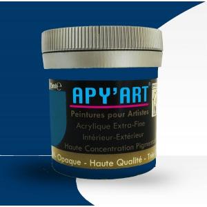 Peinture acrylique Bleu gentiane 75ml