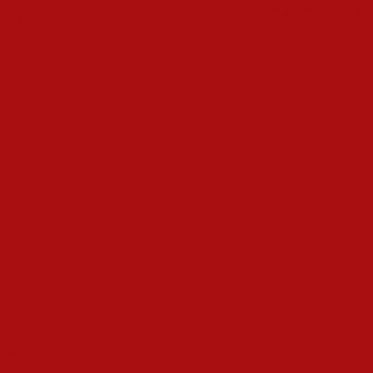 Rouge signalisation vignette peinture acrylique