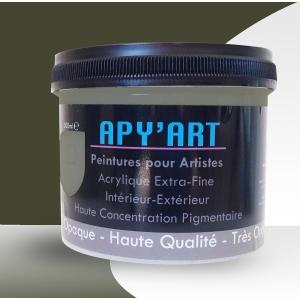 Peinture Acrylique Gris brun