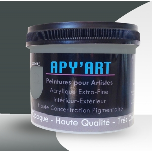 Peinture acrylique Gris fer
