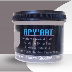 Peinture acrylique Gris platine